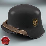 Второй немецкий шлем M35 3d model