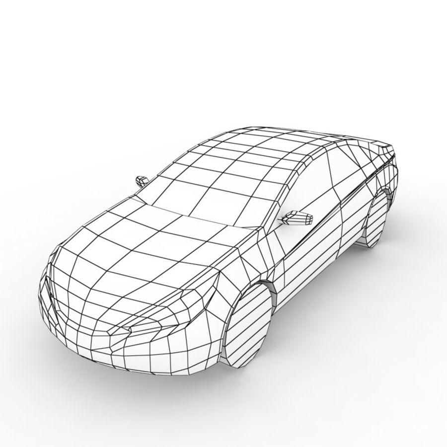 现代索纳塔2011 royalty-free 3d model - Preview no. 6