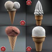 Dondurma Koleksiyonu V1 3d model
