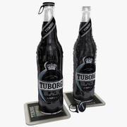 Tuborg Black Beer 3d model