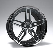 Prototyp A Racing Wheel Rim 3d model