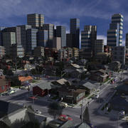 シティ3dsマックス 3d model