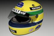 Capacete Ayrton Senna 1994 3d model