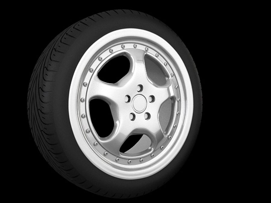 Cup speedline wheel royalty-free 3d model - Preview no. 1