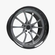 Prototype B Racing Wheel Rim 3d model