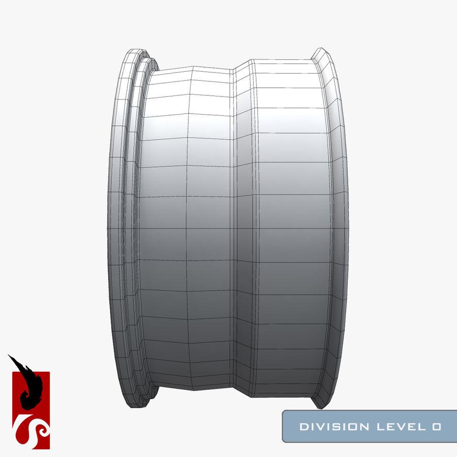 原型B赛车轮圈 royalty-free 3d model - Preview no. 15