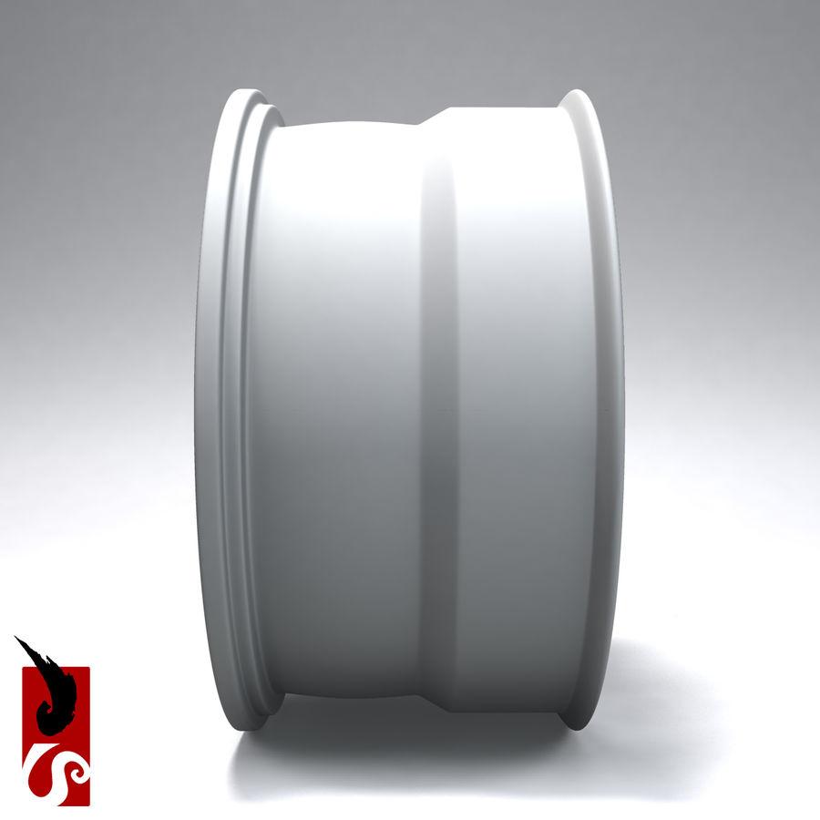 原型B赛车轮圈 royalty-free 3d model - Preview no. 10