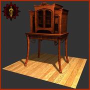 木製家具 3d model