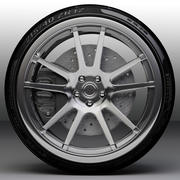 ADV.1 car sport luxury wheel type ADV5.2 3d model