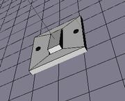 przełącznik 3d model