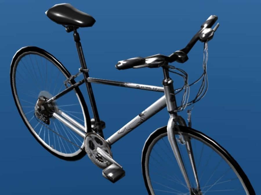 K2 Bike royalty-free 3d model - Preview no. 5