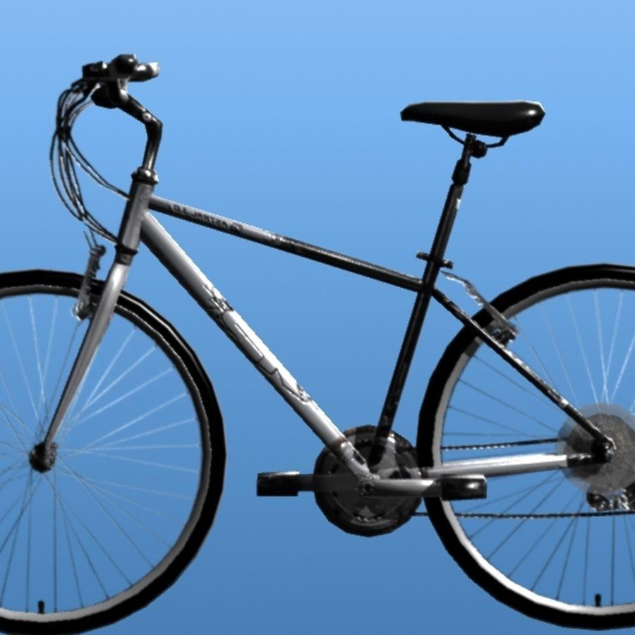 K2 Bike royalty-free 3d model - Preview no. 7