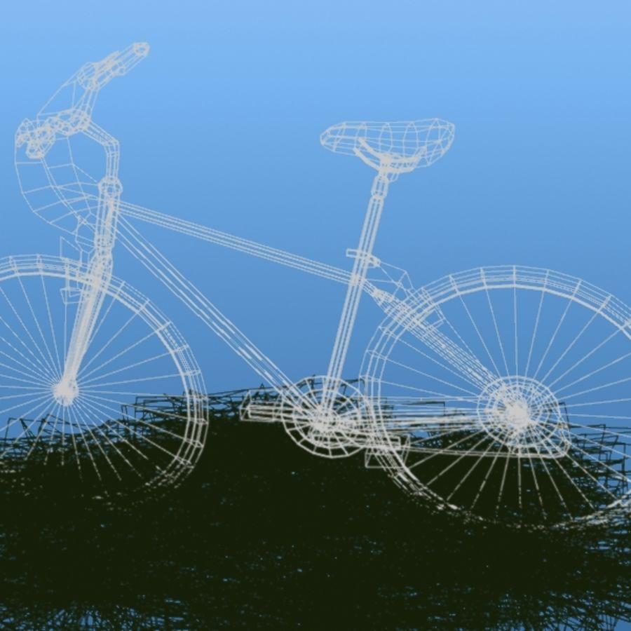 K2 Bike royalty-free 3d model - Preview no. 4