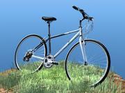 K2自行车 3d model