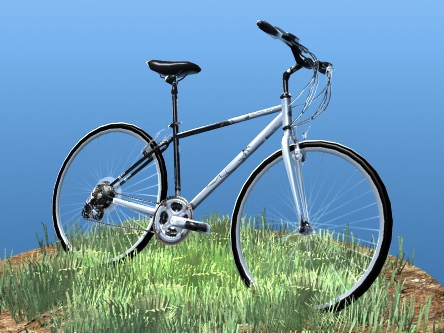 K2 Bike royalty-free 3d model - Preview no. 1