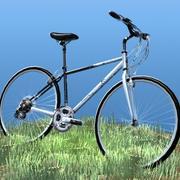 K2 자전거 3d model