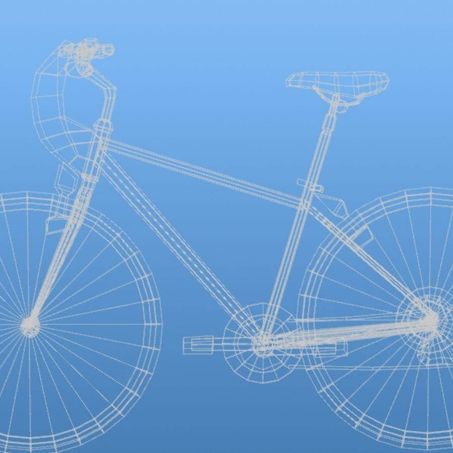 K2 Bike royalty-free 3d model - Preview no. 8