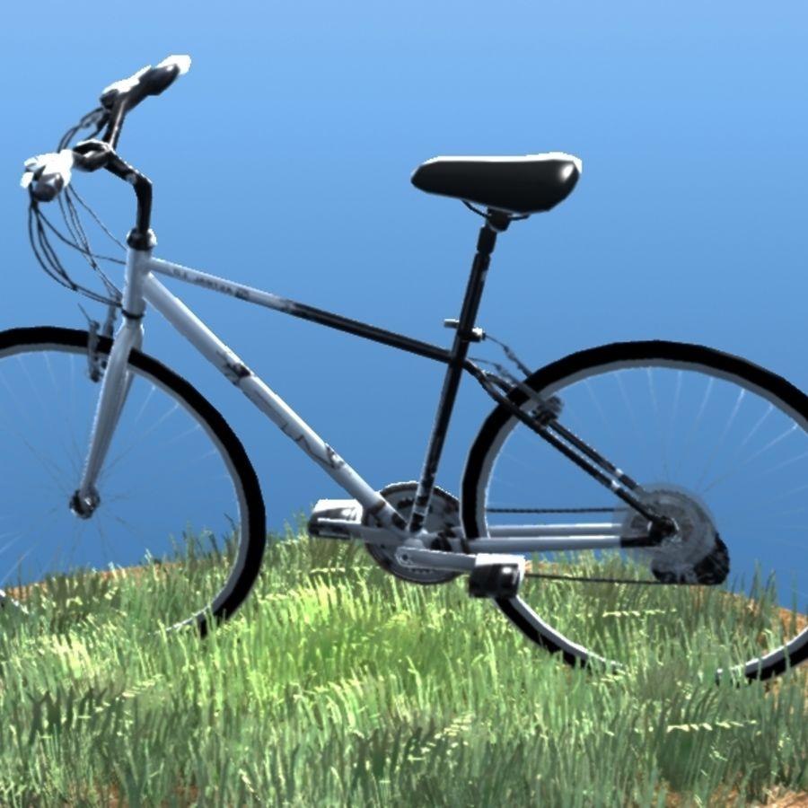 K2 Bike royalty-free 3d model - Preview no. 3