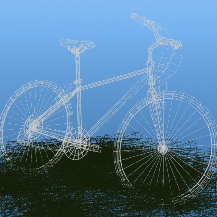 K2 Bike royalty-free 3d model - Preview no. 2