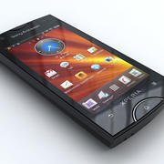 Sony Ericsson Xperia ray 3d model