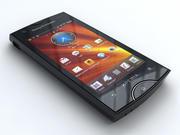 Sony Ericsson Xperia ışını 3d model