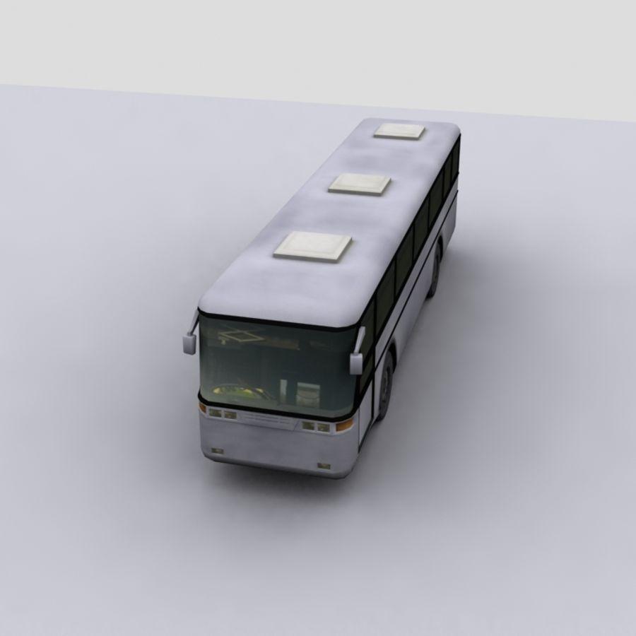 Low Polygon Coach 1 royalty-free 3d model - Preview no. 2