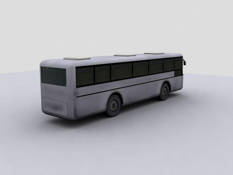 Low Polygon Coach 1 royalty-free 3d model - Preview no. 4