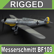 Messerschmitt BF109 3d model
