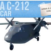 Casa c-212 Aviocar 3d model