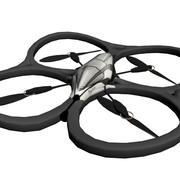 low poly ardrone 3d model