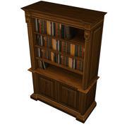 書棚 3d model