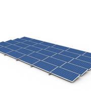 Solar Cell ver2 3d model