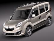 Opel Combo 2012 3d model