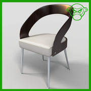 Cafe Chair 2 3d model