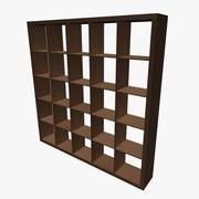 Square Shelving 3d model