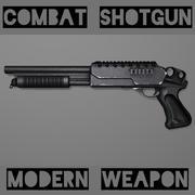 Strzelba bojowa 3d model