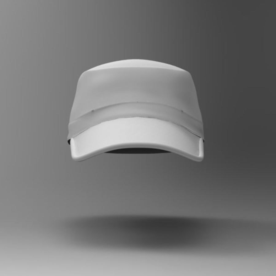 Cap Collection royalty-free 3d model - Preview no. 10