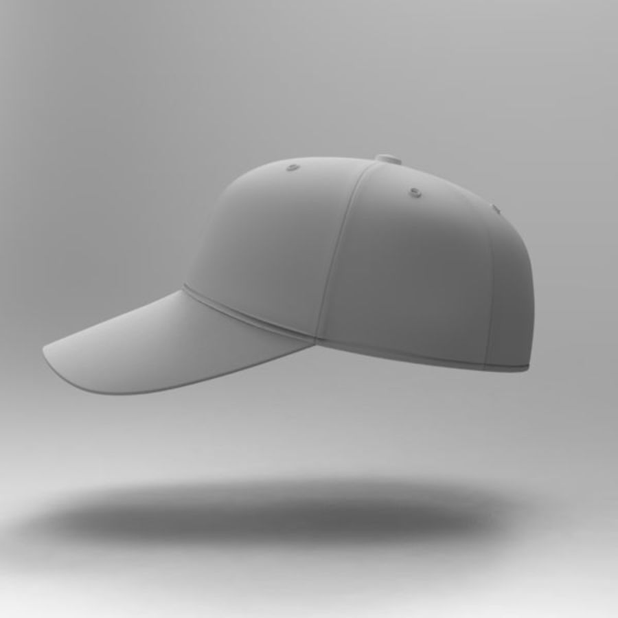 Cap Collection royalty-free 3d model - Preview no. 15