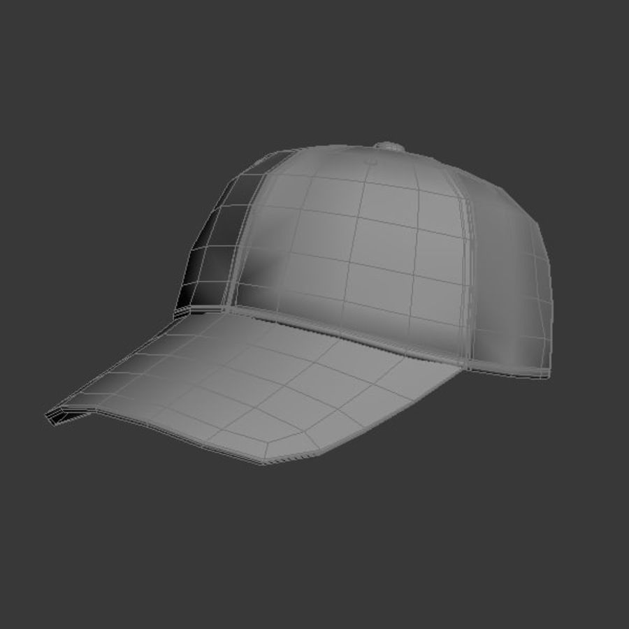 Cap Collection royalty-free 3d model - Preview no. 18