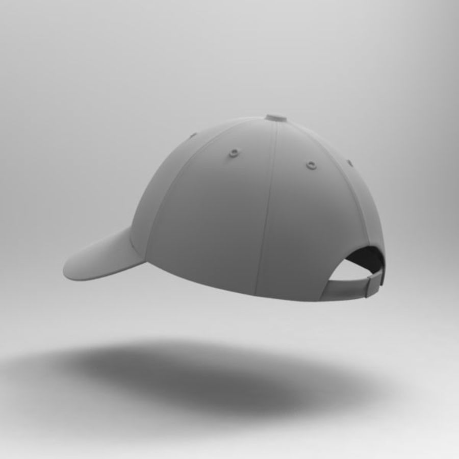 Cap Collection royalty-free 3d model - Preview no. 22