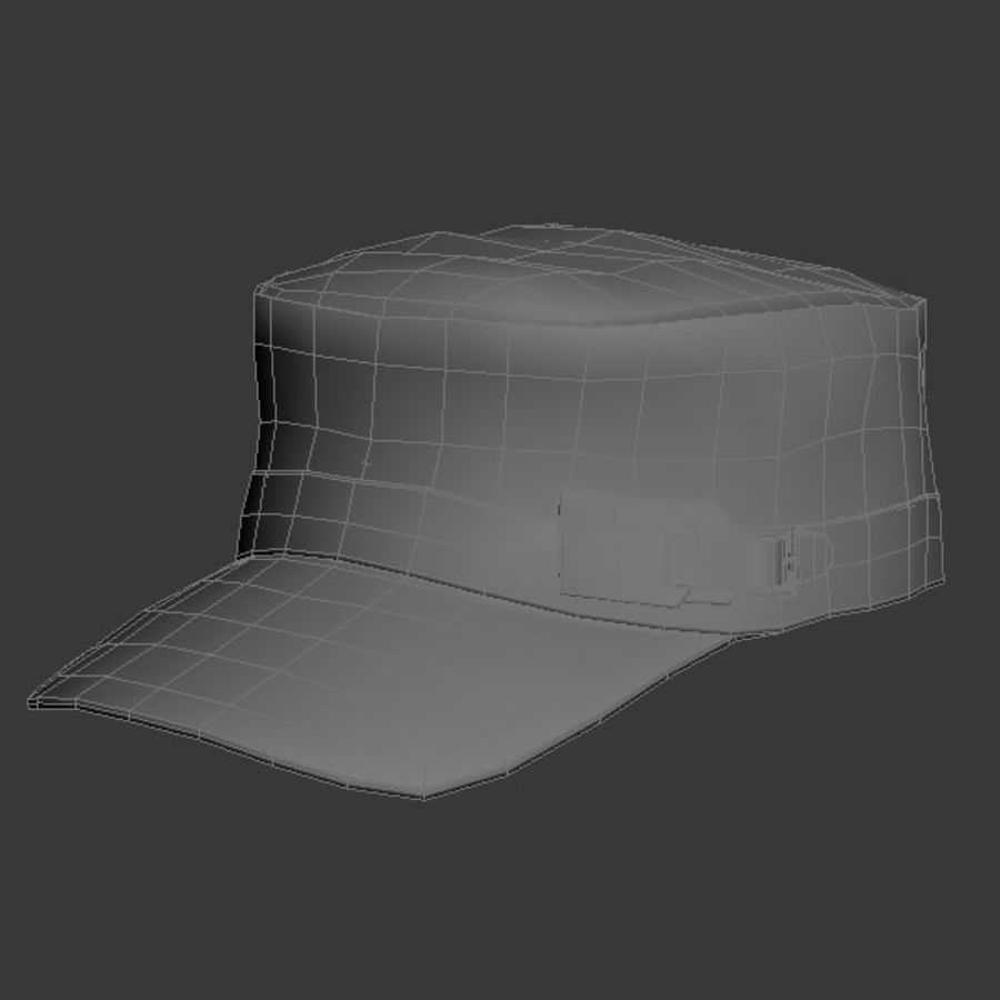 Cap Collection royalty-free 3d model - Preview no. 7