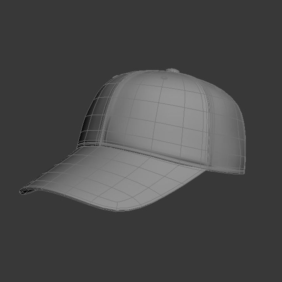 Cap Collection royalty-free 3d model - Preview no. 19