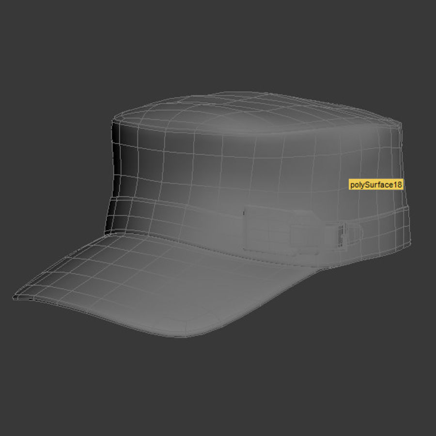 Cap Collection royalty-free 3d model - Preview no. 8