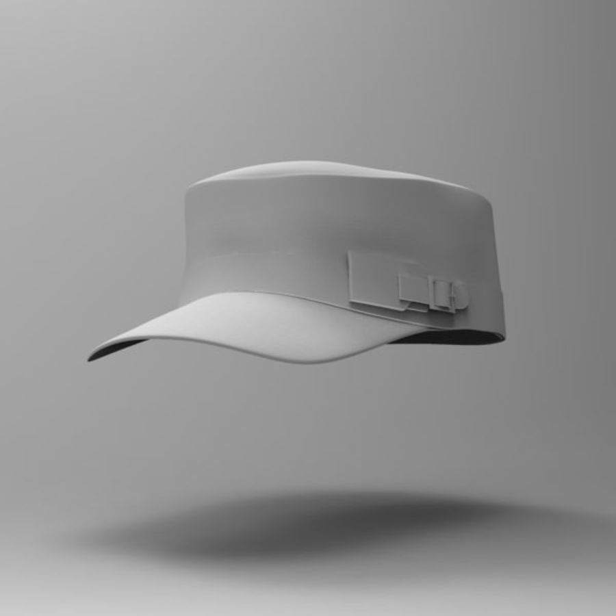 Cap Collection royalty-free 3d model - Preview no. 2