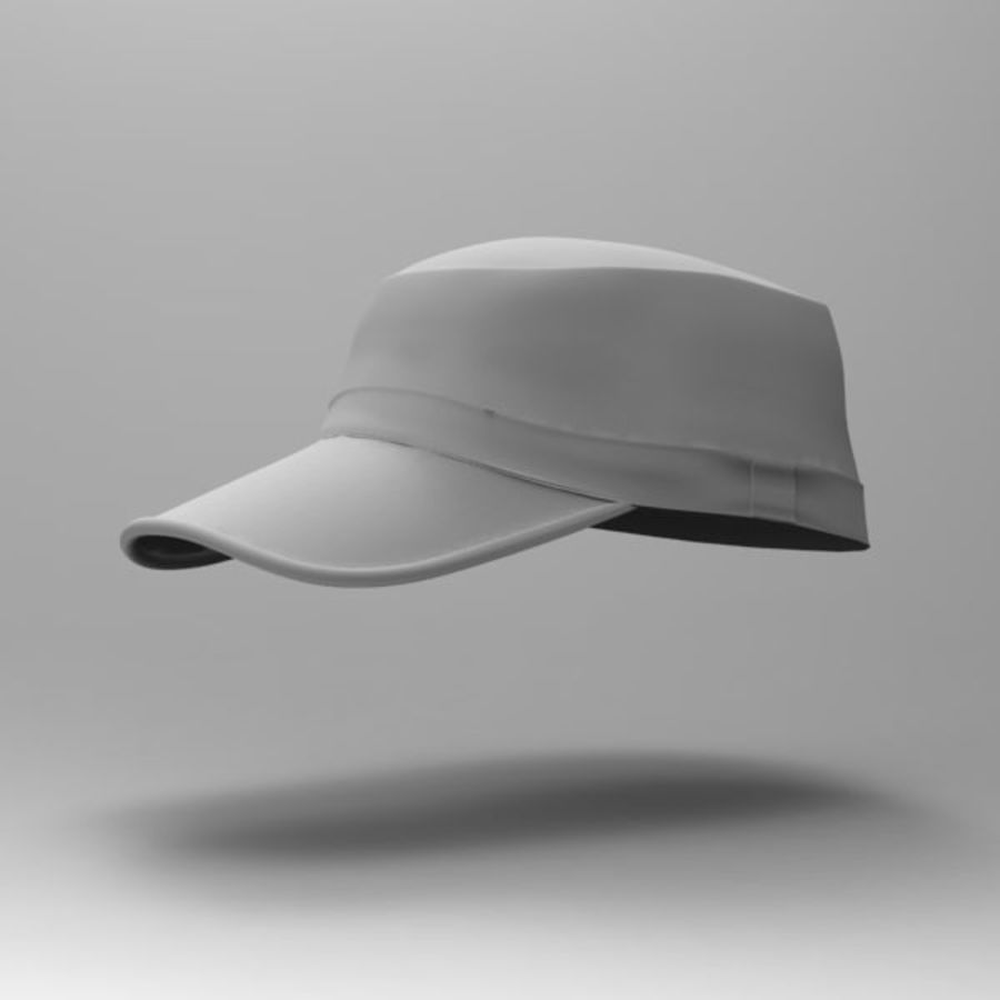 Cap Collection royalty-free 3d model - Preview no. 9