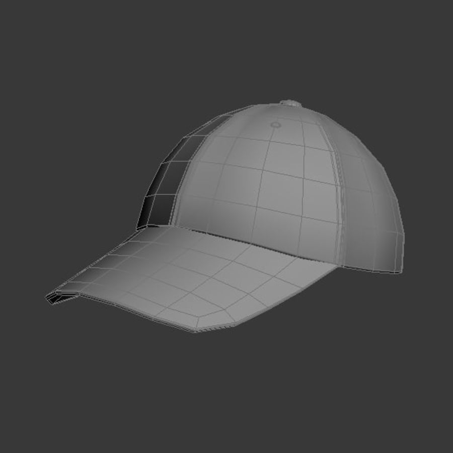Cap Collection royalty-free 3d model - Preview no. 24