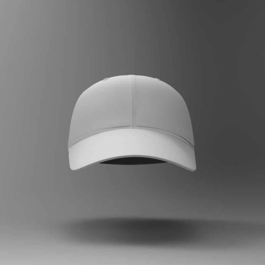 Cap Collection royalty-free 3d model - Preview no. 17