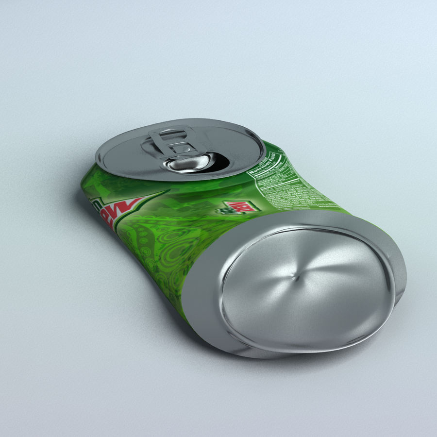 Soda Can royalty-free 3d model - Preview no. 1