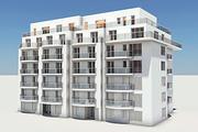 Residential Complex Element 03 3d model
