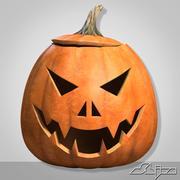 Halloween Pumpkin Head 2 Evil 3d model
